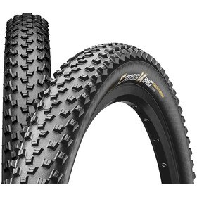 "Continental Cross King 2.2 Foldedæk 26"" Race Sport, black"